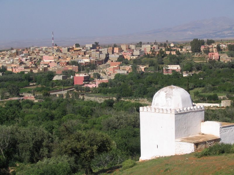 Amizmiz, foyer d'un des plus grands souks berbères dans les montagnes du Haut Atlas